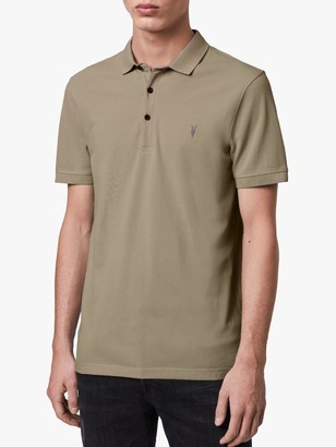 AllSaints Reform Short Sleeve Slim Polo Shirt