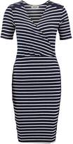 Modstrom VAMOS Jumper dress navy/off white