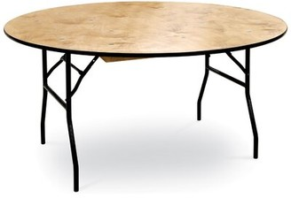 "McCourt Manufacturing ProRent 60"" Round Folding Table (Set of 5) McCourt Manufacturing"