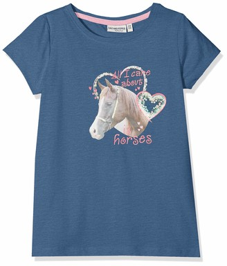 Salt&Pepper Salt and Pepper Girls' T-Shirt Horses Photoprint