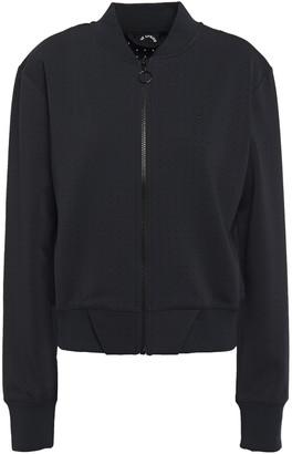 The Upside Perforated Stretch-jersey Jacket