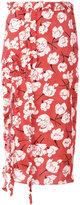 Rochas ruffled detail skirt