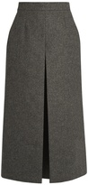 Saint Laurent Wide-leg wool culottes