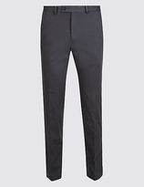 M&S Collection Slim Fit Smart Travel Chinos with Stretch