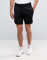 Jack and Jones Mixed Fabric Sweat Shorts