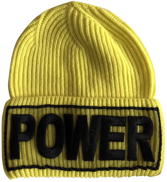 Versace Yellow Wool Hats