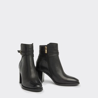 Tommy Hilfiger Heeled Leather Ankle Boot