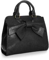 Big Handbag Shop Womens Large Bow Top Handle Satchel Bag (X-2301 )