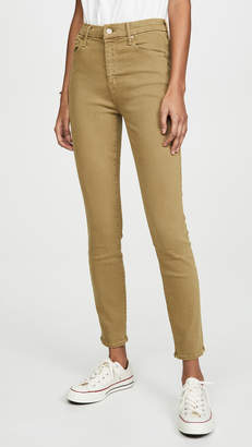 Mother High Waisted Looker Ankle Jeans