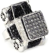 Andrew Hamilton Crawford Silver and Black Town Car Ring
