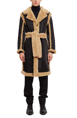 Opening Ceremony Reversible Faux Fur Coat