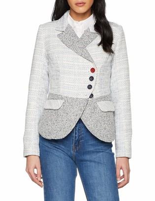 Joe Browns Women's Joe's New Favourite Jacket Suit Blue (A-White Multi (Size:16)