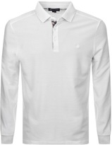 Aquascutum London Placket Polo T Shirt White