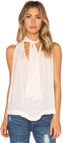 Free People Sleeveless Tie Front Top