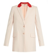 Givenchy Peak-lapel single-breasted jacket
