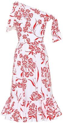 Carolina Herrera Printed stretch cotton dress