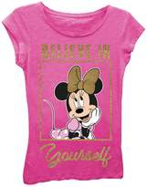 Freeze Minnie Mouse Believe in Yourself Tee (Little Girls)