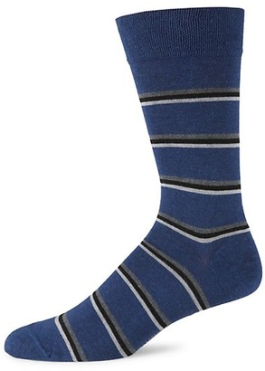 Marcoliani Milano Easy Stripe Pima Cotton Socks