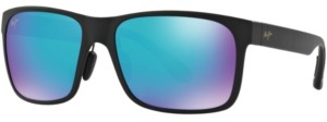 Maui Jim Red Sands Polarized Sunglasses, 432 Blue Hawaii Collection