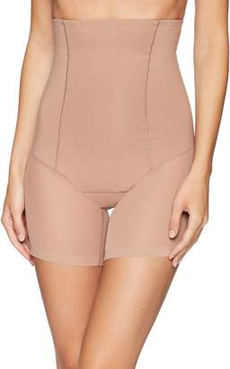 Leonisa Women's Truly Invisible Hi-Waist Control Short