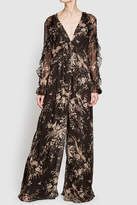 Zimmermann Printed Silk Jumpsuit