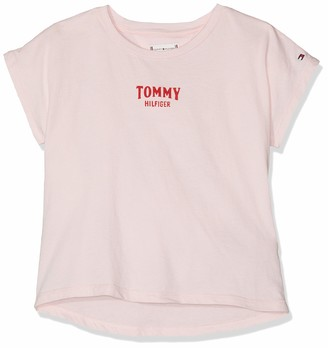 Tommy Hilfiger Girl's Small Logo Grown On S/s Tee T-Shirt