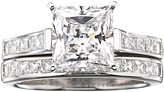 JCPenney FINE JEWELRY DiamonArt Cubic Zirconia 3 3/4 CT. T.W. Bridal Ring Set