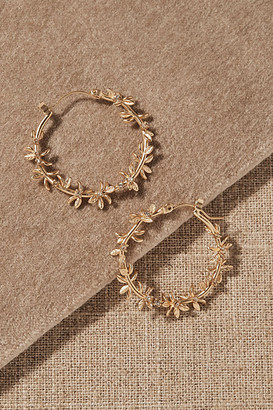 Anthropologie Parthenos Earrings By in Gold