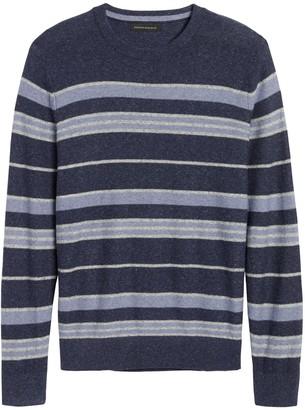 Banana Republic Silk Linen Stripe Sweater