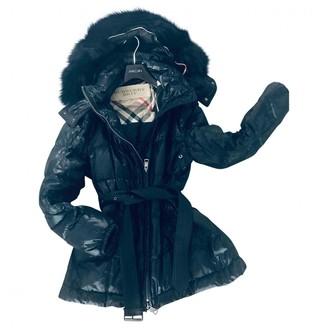 Burberry Black Fur Coat for Women