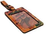 Patricia Nash Leather Luggage Tag