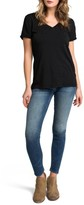 LAmade Women's Cotton V-Neck Tee