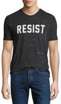 Eleven Paris Men's Resist Typographic T-Shirt