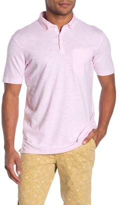 Good Man Brand Shinjuku Slim Fit Stripe Cotton Polo Shirt