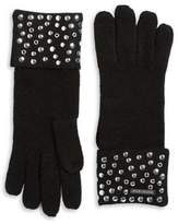 MICHAEL Michael Kors Stud Knit Gloves