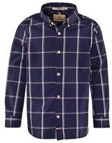 Scotch Shrunk Navy Check Shirt