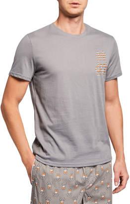Psycho Bunny Men's Glow Bunny T-Shirt