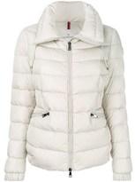 Moncler Women's White/grey Polyamide Down Jacket.