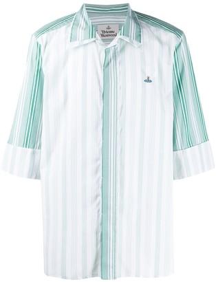 Vivienne Westwood Sunset striped cotton shirt