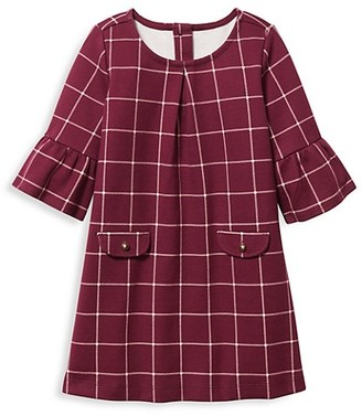 Janie and Jack Baby's, Little Girl's & Girl's Plaid Dress