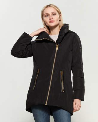 Donna Karan Pillow Collar Puffer Jacket