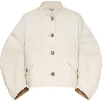 Miu Miu Drill Jacket