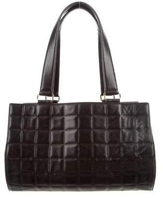 Chanel Square Quilt Barrel Bag