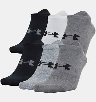 Under Armour Men's UA Essential Lite 6-Pack Socks