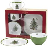 Spode Christmas Tree Children s 3-Piece Melamine Dinnerware Set