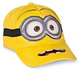 Universal Despicable Me, Minion Made Toddler Boys' Two-Eye Minion Baseball Hat