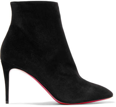 more photos 98f39 8f61f Eloise 85 Suede Ankle Boots - Black