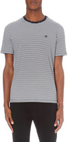 The Kooples Striped cotton-jersey t-shirt