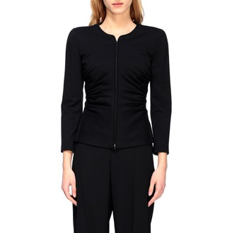 Emporio Armani Jacket Shaped Jacket With Side Curls