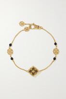 Thumbnail for your product : Buccellati Opera Tulle 18-karat Rose Gold Onyx Bracelet - L